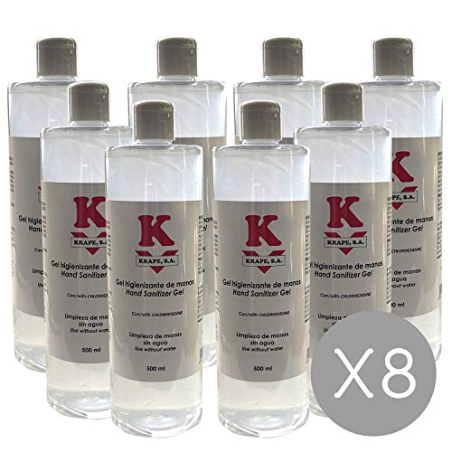 Gel hidroalcohólico Betafar 500 ml' (8)