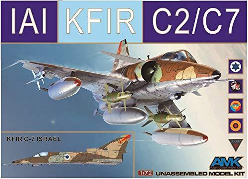 AMK Models 1/72 AvantGarde kit IAI Kfir C2/C7 Israel Columbia Ecuador ATAC - 86002