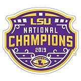 LSU 2019 National Champion Decal