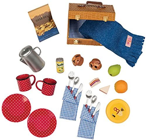 Our Generation Dolls Packed for A Picnic Set for Dolls, 18  by