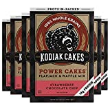 You will receive a Pack of (6) boxes of Kodiak Cakes Strawberry Chocolate Chip Pancake and Waffle Mix, 17 Oz Up to 18 grams of protein if made with milk; 21 grams if made with milk and an egg 100% whole grains are a good source of B vitamins and esse...