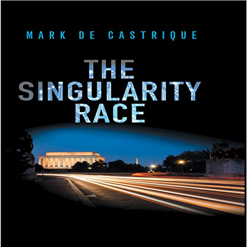 The Singularity Race audiobook cover art
