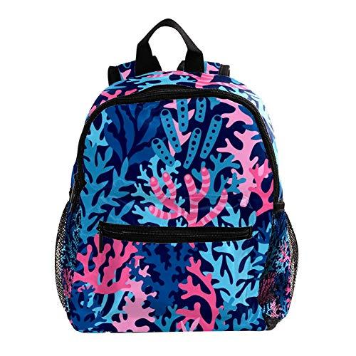 TIZORAX Sea Waves Rucksack, abstrakt, Wasserfarben, leicht, Reise- und Schulrucksack für Jungen und Mädchen Muster 13 25.4x10x30 CM/10x4x12 in