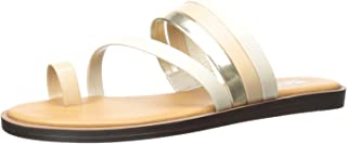 Kenneth Cole REACTION Women's Spring Toe Loop Flat Sandal