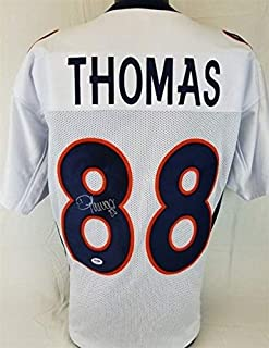 Demaryius Thomas Autographed Signed Denver Broncos Jersey - PSA/DNA Certified