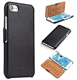 CoinKeeper Ledertasche für iPhone 6s / 6 - ***ECHT Leder -
