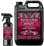 Dirtbusters Nettoyant sans rinçage à base de cire polymère de 5 l et spray de...