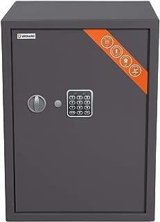 Brihard Business Caja fuerte Electrónica, 53x39x38cm (HxWxD), Gris Titanio