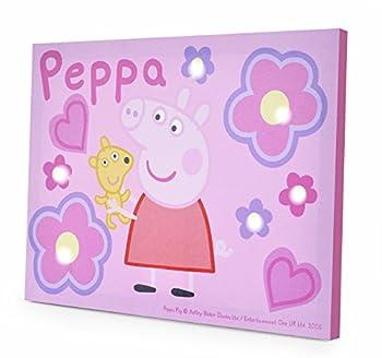Peppa Pig LED Canvas Wall Art 11.5 x 15.75