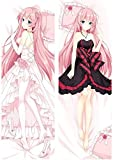 Megurine Luka - Vocaloid Double Sided hugs Body Pillow case Cushion Cover 50x137cm(20x54 Inch)