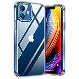 TORRAS Diamond Series für iPhone 12 Mini Hülle Extrem Durchsichtig (Vergilbungsfrei) Starke...