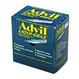 Advil Products - Advil - Liqui-Gels, 50 Two-Packs/Box - Sold As 1 Box - Packaged for individual use to replenish first aid stations and kits.