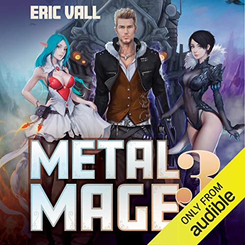 Metal Mage 3 audiobook cover art