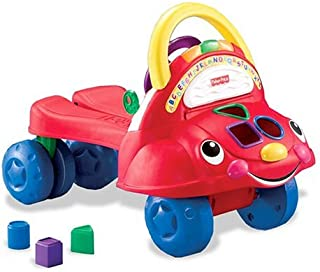 Fisher-Price Laugh & Learn Stride-to-Ride Learning Walker