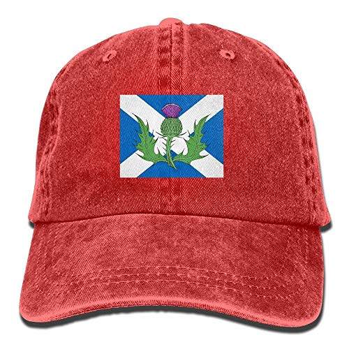 ingshihuainingxiancijies Schottland Distel Symbol Adult Sport Adjustable Structured Baseball Cowboyhut