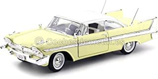 modello completo Plymouth Fury Motormax 1:18 1958 beige Modelo de Auto