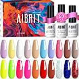 Best Gel Polish Kits - Gel Nail Polish, 23 PCS Nail Gel Polish Review