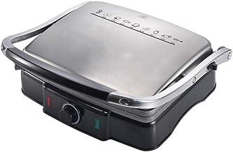 Sandwich Toastie Maker avec machine de petit-déjeuner à domicile Pan Non-Stick Facile à nettoyer la machine à cuisson à pr...