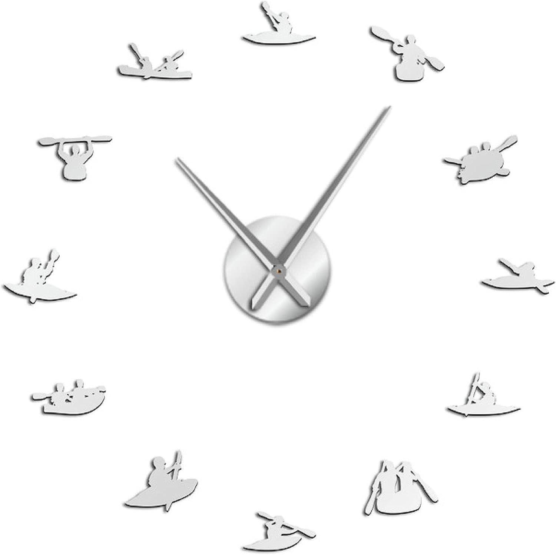Xinxin Large discharge sale Wall Award Clock Boating DIY Watch Oversized Modern Sport