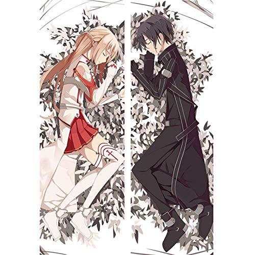 Tamengi Anime Boy Girl Throw Pillow Case Hugging Body Pillow Cover Case Decorative Pillowcases for Bed Sofa 20x54inch