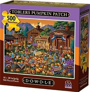 Dowdle Jigsaw Puzzle - Toblers Pumpkin Patch - 500 Piece