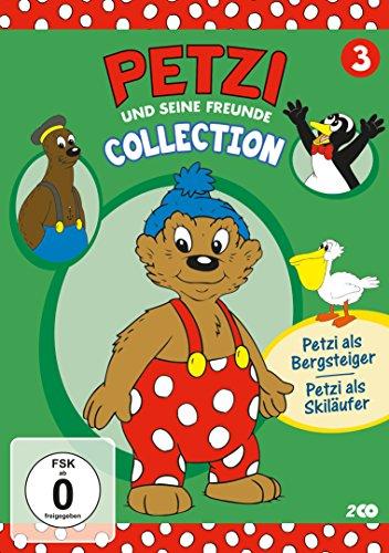 Petzi und seine Freunde Collection 3 - Petzi als Bergsteiger / Petzi als Skiläufer [2 DVDs]