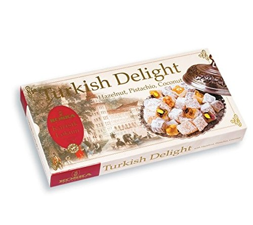 Turkish Delight Hazelnut, Pistachio, Coconut (Koska) 500g