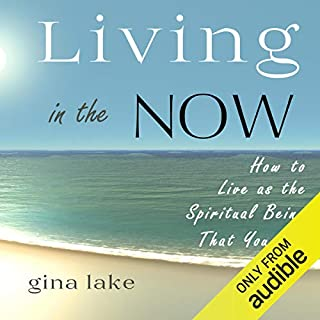 Living in the Now audiobook cover art