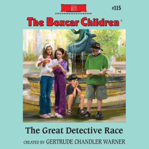 The Great Detective Race audiobook cover art