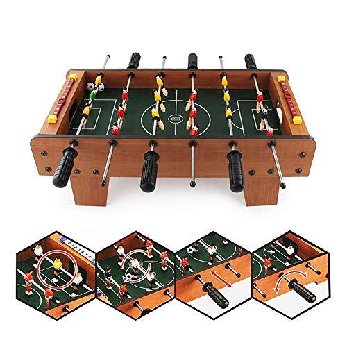 ZY 6 Pole Kickertisch Tragbare Mini Foosballs Tischfußball Wettbewerb Tabletop Für Spiel, Kinder Lernspielzeug Tischfußball Maschine