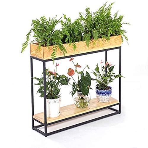 MILAYA JI Bin Shop® Stand De Fleurs, Bureau Rack De Salon, Partition Café Porche Bonsai ++ (Taille : 60x30x57CM)