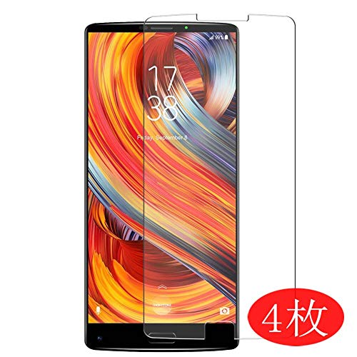 【4 Pack】 Synvy Screen Protector for HomTom S9 Plus 0.14mm TPU Flexible HD Clear Case-Friendly Film Protective Protectors [Not Tempered Glass] New Version