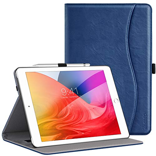 Ztotops Cover for New iPad 10.2 2019 Senior Business Folding Folio Case...