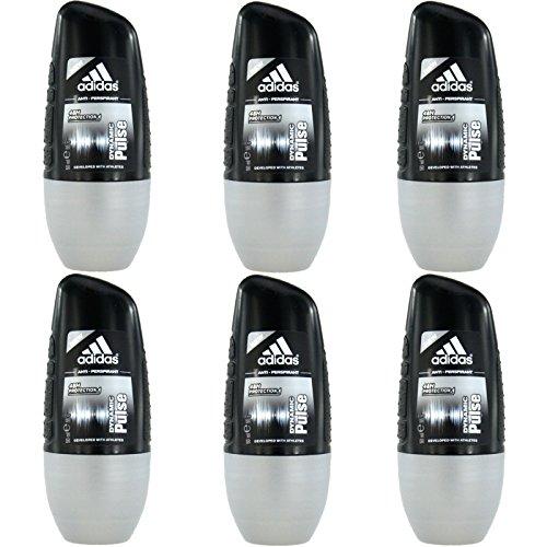 6 x 50ml Adidas dynamic Pulse Roll On Deo Deodorant Rollon Deostick Herrendeo
