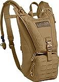 CamelBak Ambush Paquete de hidratación, Coyote Tan, con 100 oz (3.0L) Mil-Spec Crux, tamaño único