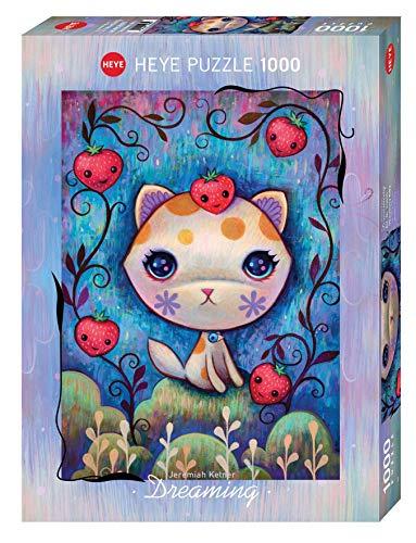 Heye- Strawberry Kitty Standard 1000 Piezas, Multicolor (29895)