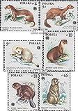 Prophila Collection Polonia 2946-2951 (Completa.edición.) 1984 protegidas Animales de Pieles (Sellos para los coleccionistas) Otros mamíferos