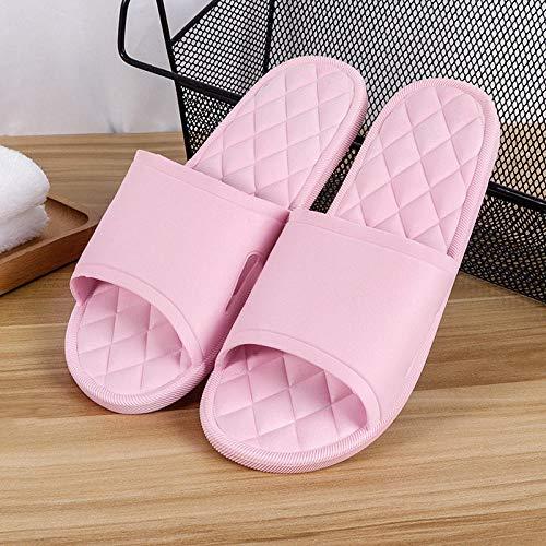 YYFF Planas Caminar Ortopedicas Zapatos,Zapatillas de Masaje de descompresión,Sandalias de casa Antideslizantes-Pink_38,Sandalias Hombre