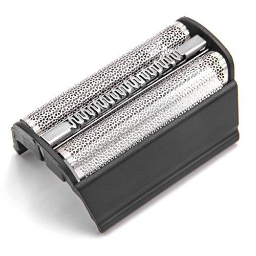 vhbw Doppel-Scherfolie Rahmen für Braun Flex XP/Flex XP II 5600, 5610, 5611, 5612, 5613, 5614, 5663, 5665, 5691, 5715, 5716, 5719 Rasierer, schwarz