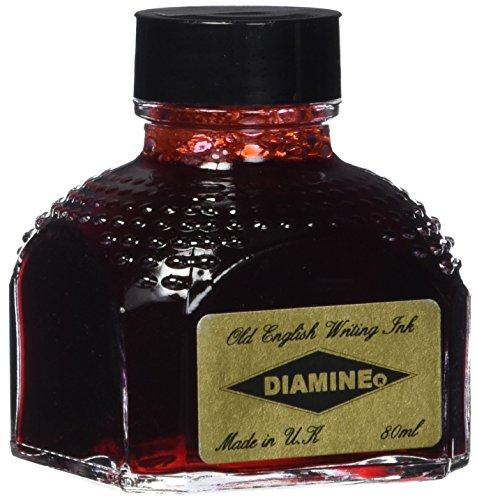 Diamina 80 ml rosa botella de tinta pluma estilográfica
