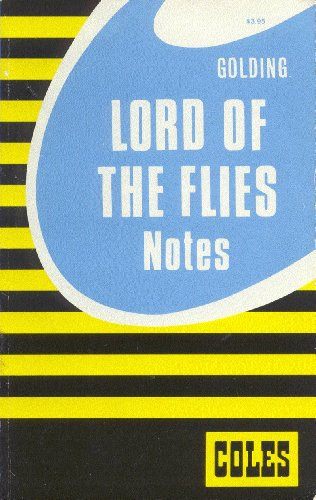 Lord of the Flies/Coles Notes 0774032952 Book Cover
