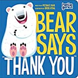 Bear Says 'Thank You' (Hello Genius)