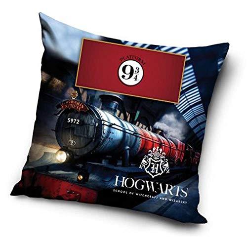 Warner Bros Harry Potter - Cojín de plataforma 9 3/4