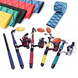 Fotag X-Tube Heat Shrink Wrap Tubing Fishing Rod Handle Cork with Non Slip, Waterproof and...