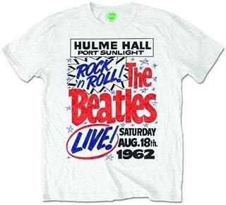 b1d4de18 Mens The Beatles Men's Premium Tee: 1962 Rock N Roll Short Sleeve T - Shirt