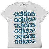 adidas Original by Jeremy Scott Flag Tee Stars X30176 - Camiseta Blanco L
