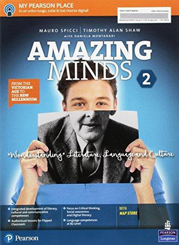 Amazing minds. Wonderstanding. Per le Scuole superiori. Con e-book. Con espansione online [Lingua inglese]: Vol. 2