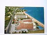 AK Alicante/Spanien - Hotel Cap Negret, Komplettansicht mit Strand, Gelaufen.
