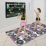 Kacsoo Alfombrilla de Baile para niños y Adultos, Antideslizante, inalámbrica, Alfombra de Juego Musical somatosensorial, máquina de Baile inalámbrica con 58 Juegos y 200 música AUX