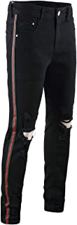 Best black jeans with red stripe Reviews